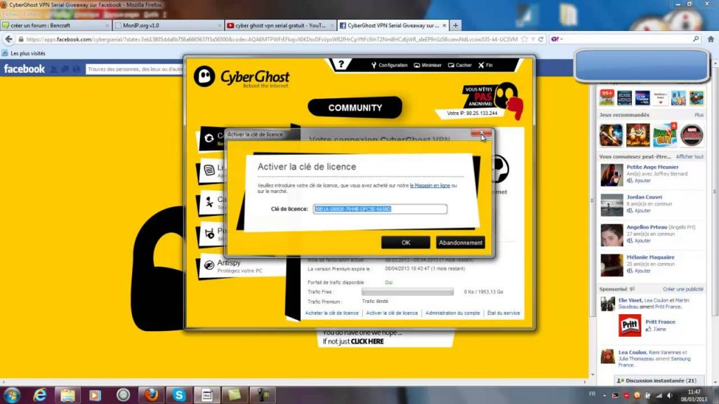 CyberGhost VPN Crack 2020 With Serial Key
