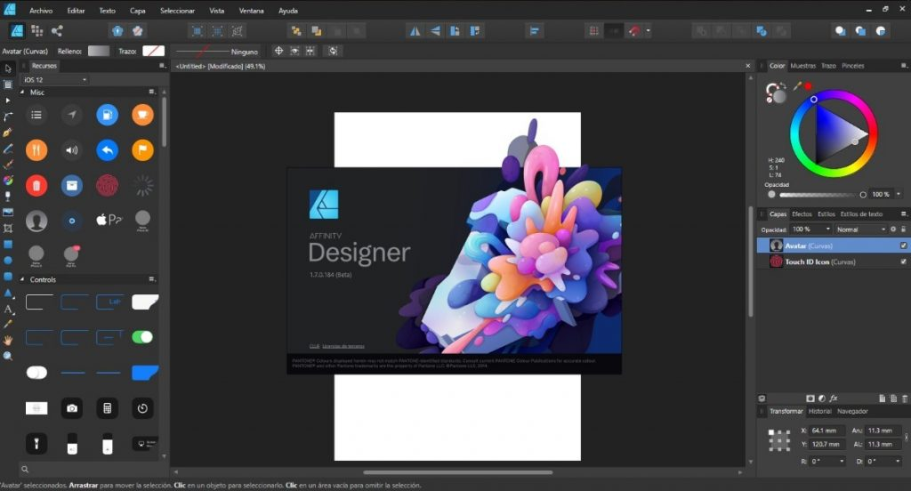 Affinity Designer 1.8.3.641 Crack With Activation Code