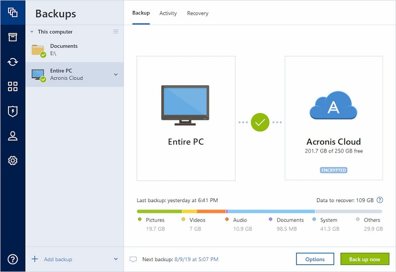 Acronis True Picture 24.6.1.25700 Crack 2020 With Activation Code